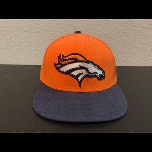 Denver Broncos New Era 59 Fifty Fitted Hat